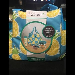 Womans new pineapple lunch pail